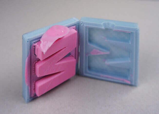 En İyi 3D Yazıcı Filamenti Türleri: Wax (MOLDLAY)