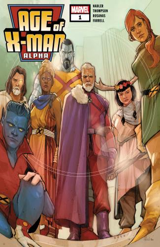 Image result for Age of X-Man: Alpha