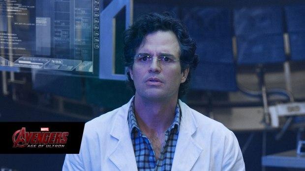 Mark Ruffalo stars as Bruce Banner in Marvel's Avengers: Age of Ultron