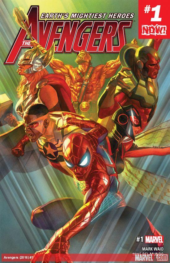 Avengers #1-Marvel Now!