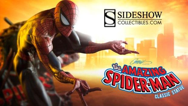 Spider-Man Classic Polystone Statue