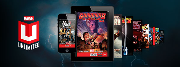 Expand into Marvel Unlimited Plus