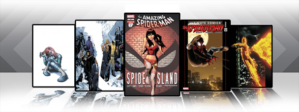 Marvel Comics App: Latest Titles 10/12/11