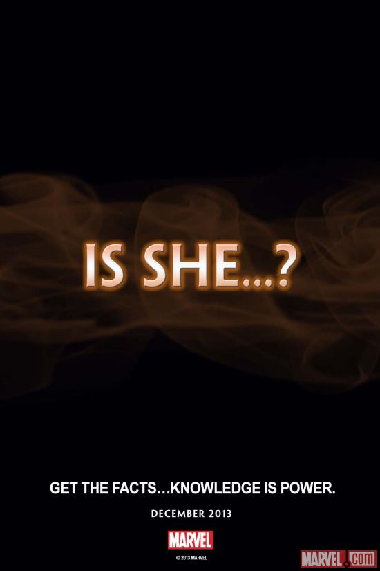 Is She...?