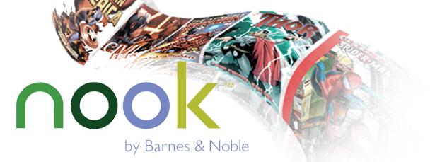 """Marvel Digital Graphic Novels on NOOK Tabletâ""""¢"""