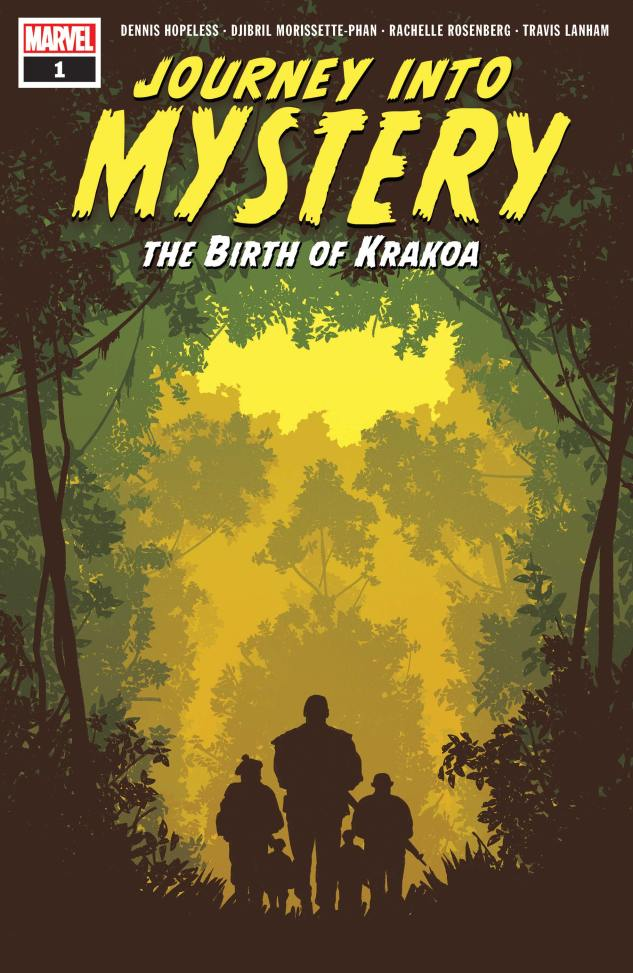 Capa de Journey Into Mystery: The Birth of Krakoa #1 por Greg Smallwood.