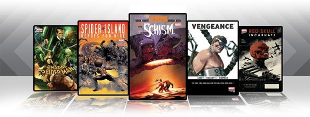 Marvel iPad/iPod App: Latest Titles 10/5/11