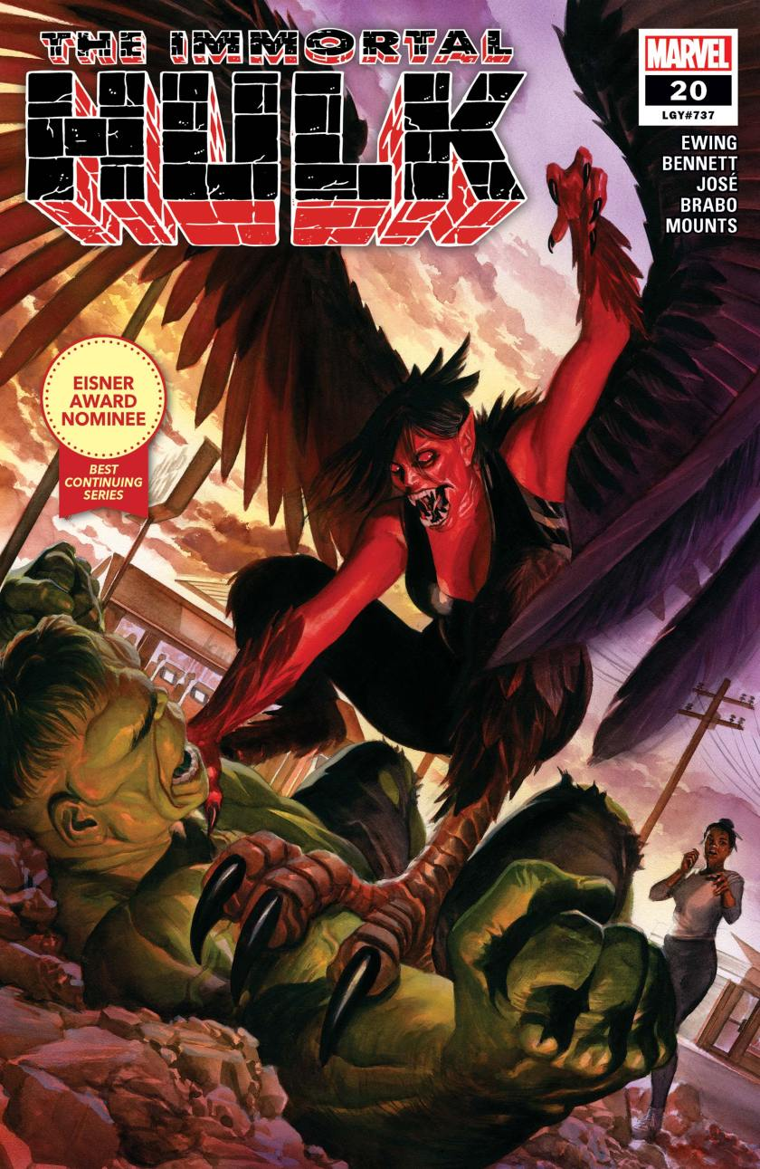 Immortal Hulk (2018) #20 | Comic Issues | Marvel