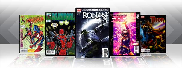 Marvel iPad/iPod App: Latest Titles 2/24/11
