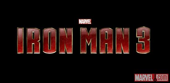 Iron Man 3 official logo