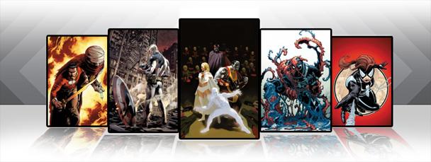 Marvel iPad/iPod App: Latest Titles 8/17/11