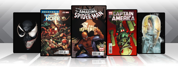 Marvel Comics App: Latest Titles 11/16/11