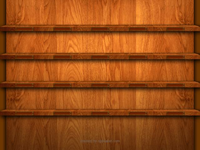 "13 Reviews on ""iPad Shelf Wallpaper Template and Contest"""