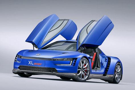 Vw Xl Sport Auf Dem Autosalon Paris 2014 Autobild De