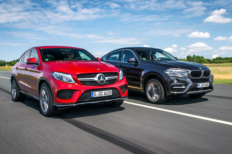 Mercedes GLE Coup Gegen BMW X6 Der Gipfel Der Unvernunft