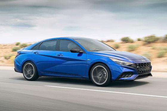 2021 hyundai elantra hybrid trims & Sportliches N Line Modell Fur Den Hyundai Elantra Autobild De