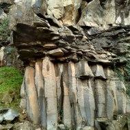 Базальтовая лава в Ла Гарроче