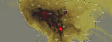 El impacto medioambiental de los incendios del Amazonas, explicado en un mapa