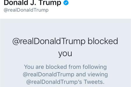Trump Bloqueo Twitter