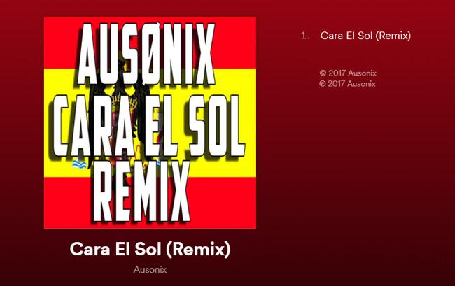 Spotify Cara Al Sol Ausonix