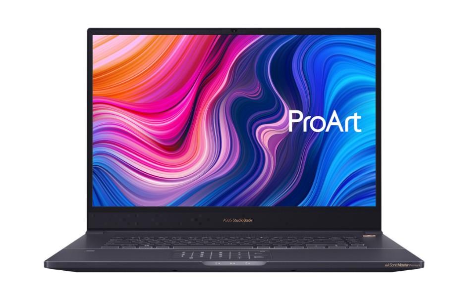 "Portátil ASUS ProArt StudioBook Pro 17 W700G3T-AV009R / Windows 10 Pro / i7-9750H / Quadro RTX3000 / 32GB RAM / 1TB SSD / 17"" - 43,18cm / Metal Gris Turquesa / Teclado QWERTY Español"