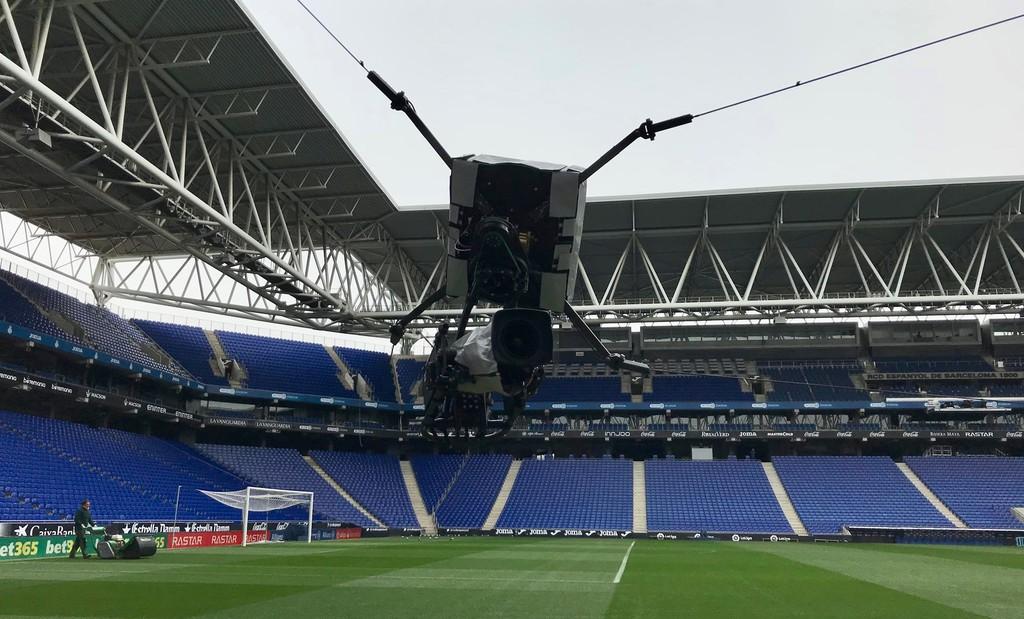 Skycam Estadio Espanyol Laliga