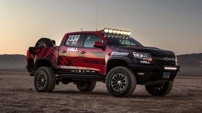 Hall Racing y su Chevrolet Colorado ZR2, listos para cruzar Nevada campo a través