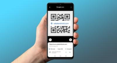 Cómo escanear un código QR de una foto o captura de pantalla con un móvil Android