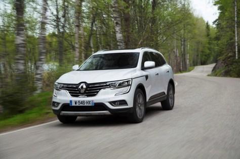 Renault Koleos 2017, prueba contacto