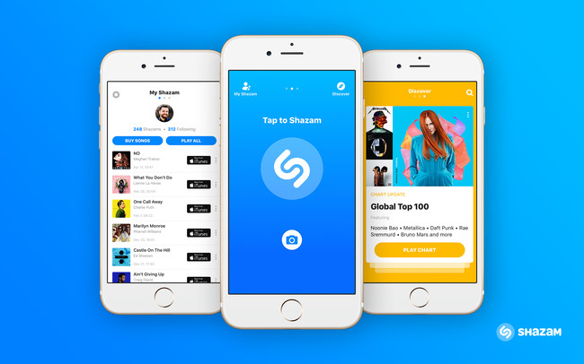 Shazam en terminales iPhone de Apple
