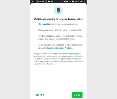 Whatsapp Condiciones Privacidad