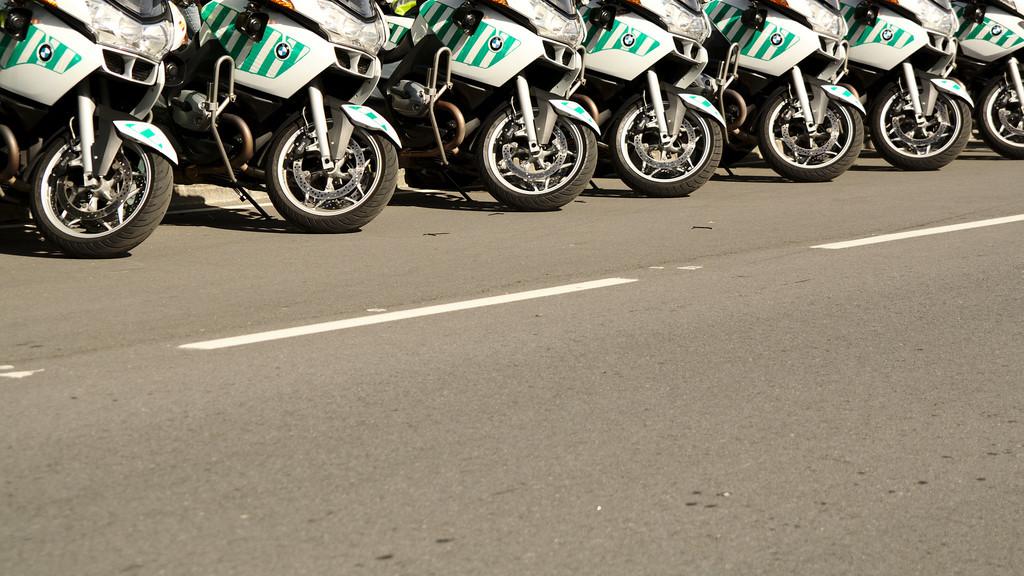 Motos Guardia Civil