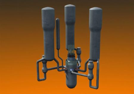 Reactor de tres lazos
