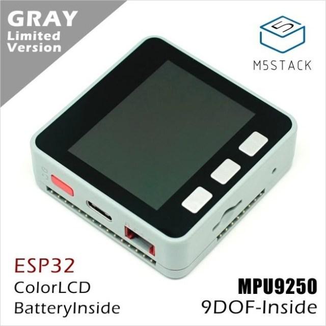 Edición limitada en Gris con el MPU9250