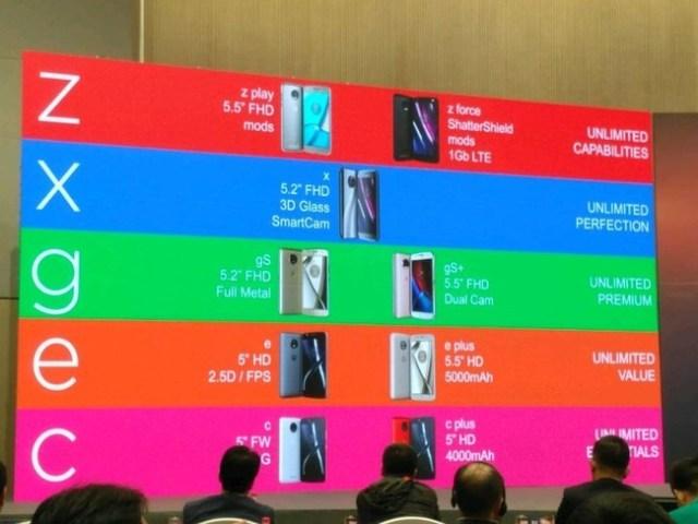 La estrategia de Motorola: de dos a seis gamas de smartmoviles para cubrir todas las necesidades