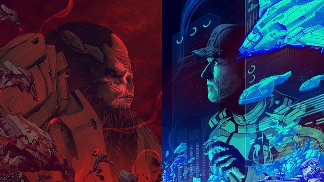 Halo Wars dos Artwork