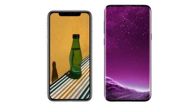 Iphone X vs Samsung℗ Galaxy℗ S9 Plus