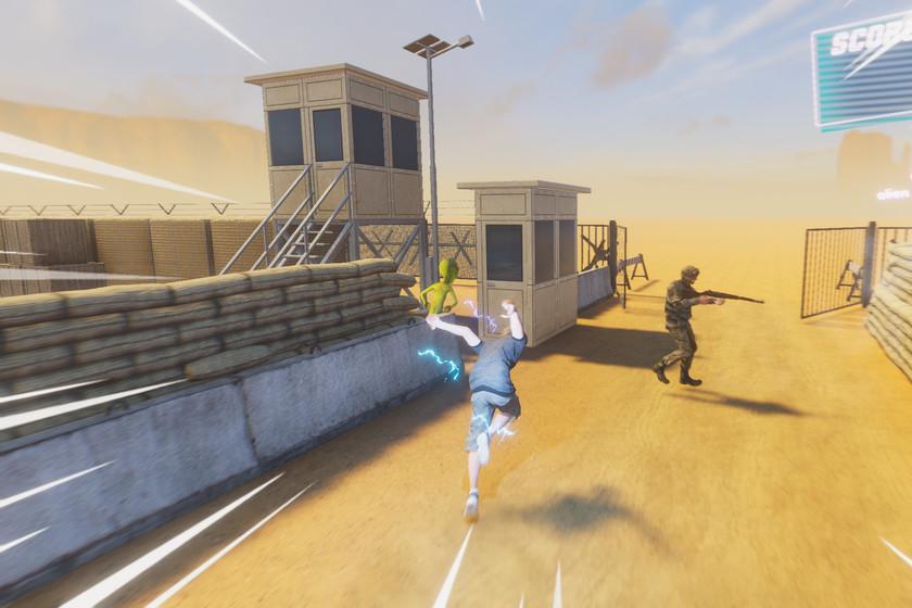 Con Operation: Cheek Clapper puedes asaltar el Área 51 y rescatar a los aliens sin salir detenido