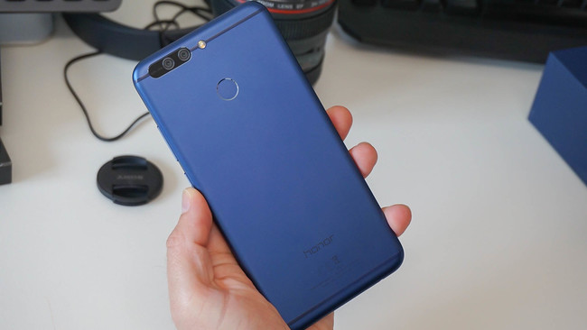 Honor 8 Pro trasera metal