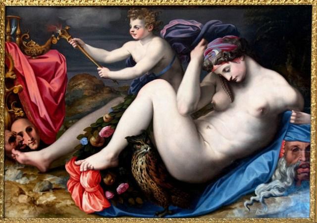 'La noche' de Michele di Ridolfo del Ghirlandaio