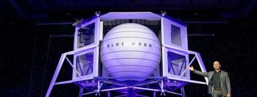 'Blue Moon': los primeros detalles del ambicioso plan de Jeff Bezos con Blue Origin para llegar a la Luna