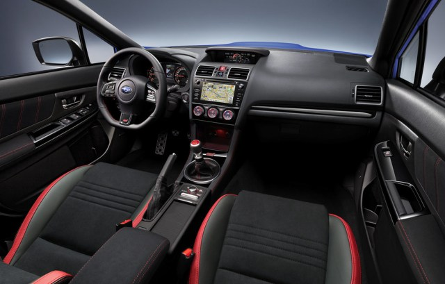 Subaru WRX STI 2018 Interior Vista General