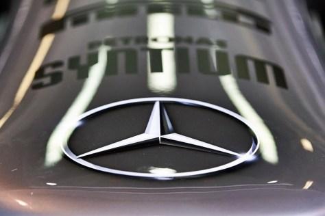 Logo Mercedes F1