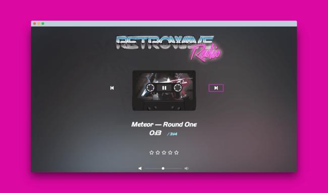 Retrowave Radio