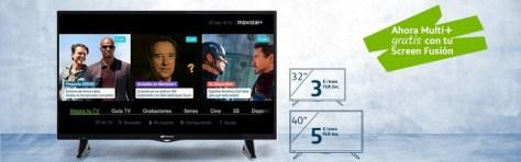 Movistar abarata su Screen Fusión, ya no habrá que pagar por tener un segundo descodificador