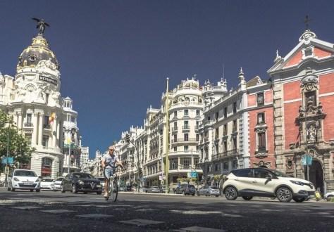 La Gran Vía de Madrid se cerrará al tráfico de manera permanente a partir de estas Navidades