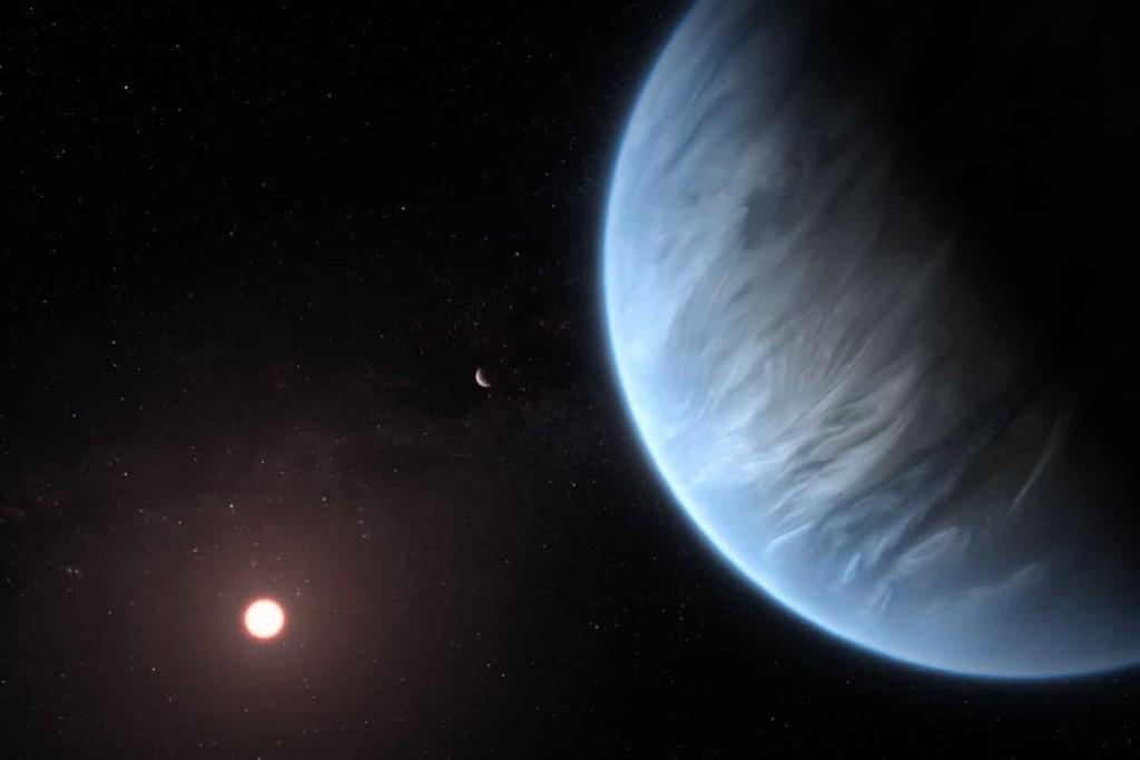 Hallan, por primera vez, agua en un exoplaneta situado en la 'zona habitable' de su sistema solar
