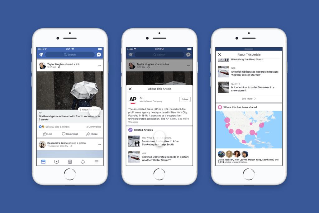 El boton de Facebook® para reconocer novedades falsas se estrena en España