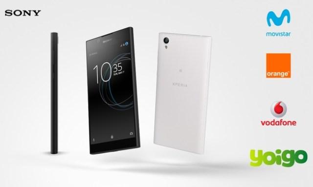 Sony Xperia® L1 Con Pago A Plazos Mmovistar Vodafone® Orange® Y Yoigo