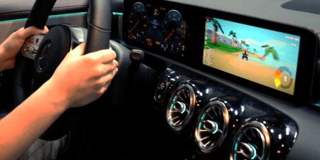 In Car Gaming